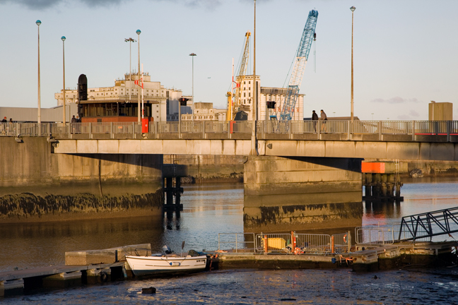 Tom Clarke Bridge, Dublin, Ireland, October 2019 © Tom O'Connor 2019