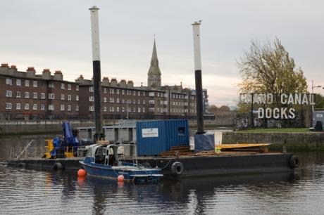 Grand Canal Docks, Dublin, Ireland, November 2019 © Tom O'Connor 2019