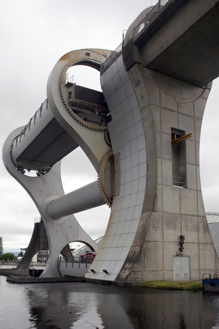 The Falkirk Wheel, Falkirk, Scotland, July 2019 © Tom O'Connor 2019