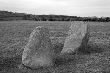 Boherboy Standing Stones, Dublin, Ireland 2020