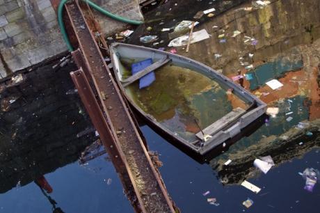 Georges Dock, Dublin, Ireland, March 2020