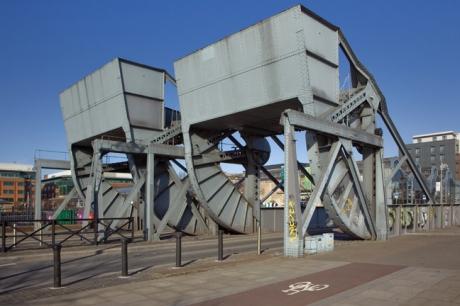 Scherzer Bridge, Dublin, Ireland, March 2020