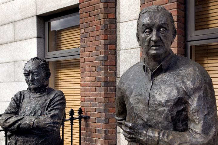 Mount Street Crescent, Dublin, Ireland, April 2020