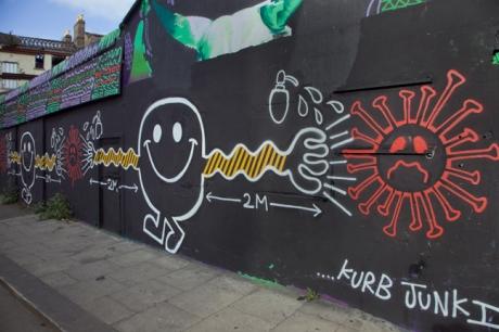 Peter Place, Dublin, Ireland, April 2020