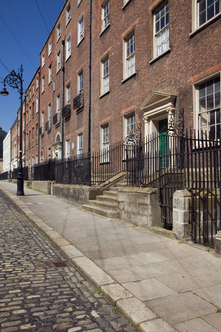 Henrietta Street, Dublin, Ireland, May 2020