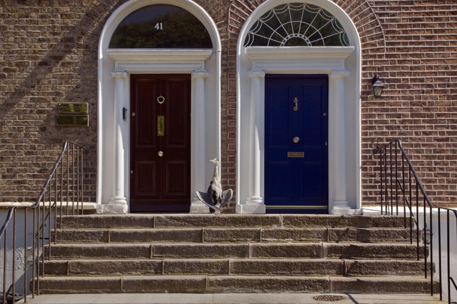 Percy Place, Dublin, Ireland, May 2020