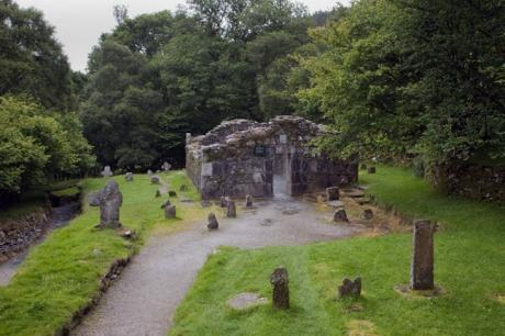 Reefert Church, Wicklow, Ireland, July 2020