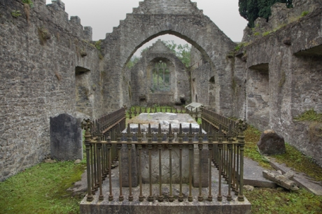 Malahide Abbey, Dublin, Ireland, August 2020