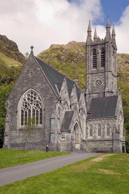 Kylemore Abbey, Galway, Ireland, June 2020