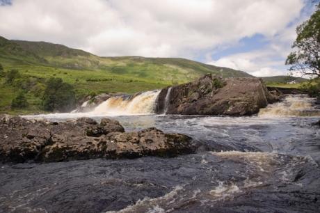 Aasleagh Falls, Mayo, Ireland, June 2020