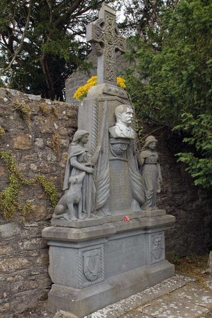 Dowth Abbey, Meath, Ireland, June 2020