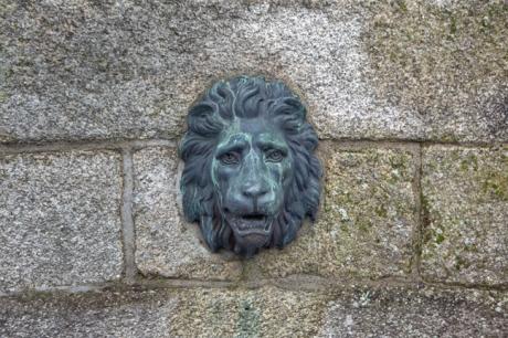 Rutland Fountain, Merrion Square West, Dublin, Ireland, February 2021