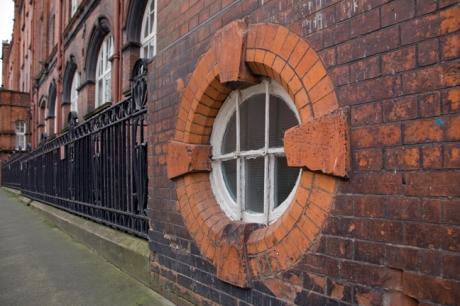 Iveagh Buildings, Dublin, Ireland, February 2021