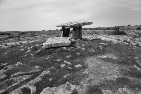 Poulnabrone Portal Tomb, Clare, Ireland, 2021