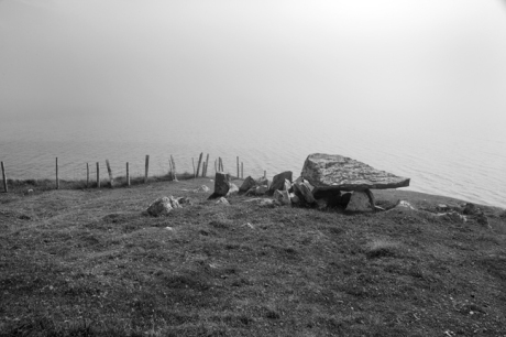 Cleggan Court Tomb, Galway, Ireland, 2021