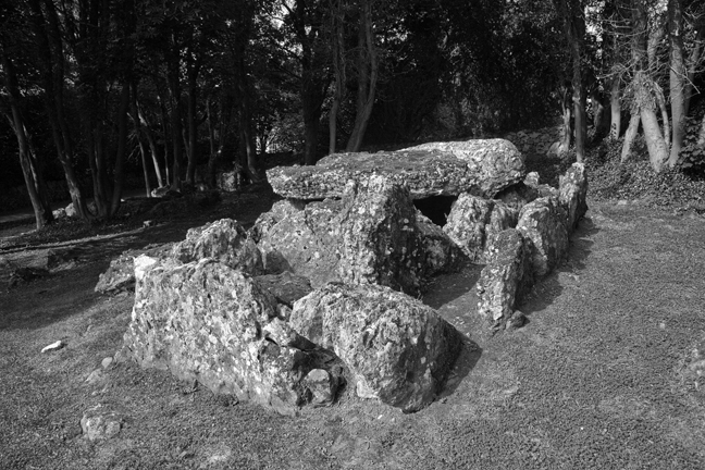Lough Gur Wedge Tomb, Limerick, Ireland, 2021