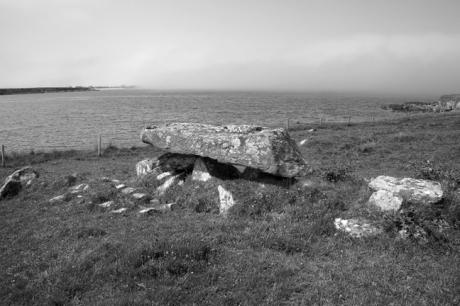 Knockbrack Megalithic Tomb, Galway, Ireland, 2021