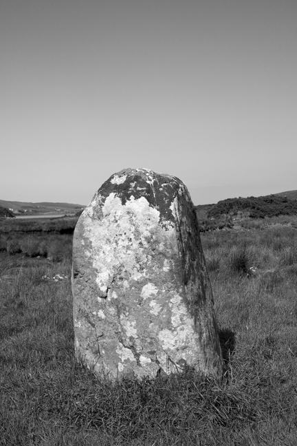 Letterdeen Standing Stone, Galway, Ireland, 2021